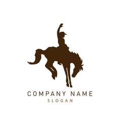 Cowboy logo vector