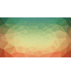 green yellow and red abstract background vector image vector image
