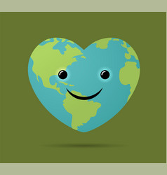 Happy earth day world environment day vector