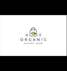 Salad shop logo design vector