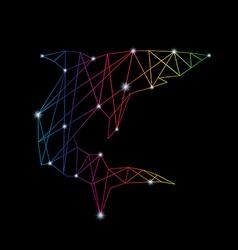 Shark abstract vector image