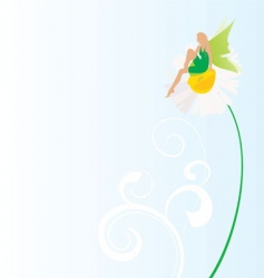 fairy symbol vector image vector image