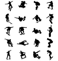 Skate jumpers vector