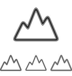 Adventure logo design set vector