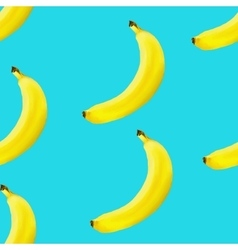 Banana seamless background vector