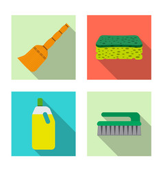 cleaning and service icon vector image