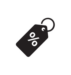 discount tag icon design template isolated vector image