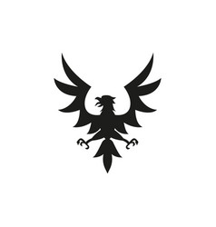 eagle symbol or sign vector image