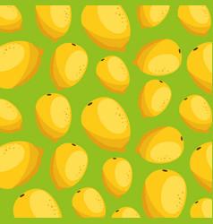 fresh guavas pattern background vector image