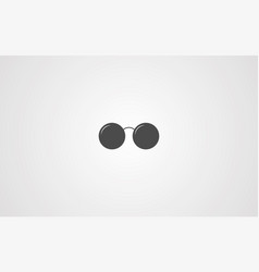 glasses icon sign symbol vector image