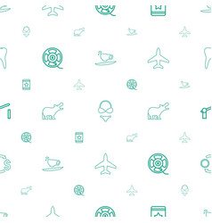 graphic icons pattern seamless white background vector image