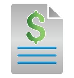 Price Description Gradient Icon vector