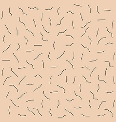 Skin with unshaven bristle pattern vector
