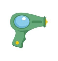 Water pistol icon flat style vector