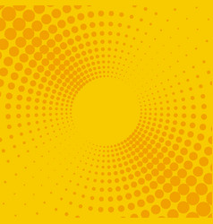 yellow and orange background vector image