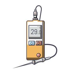 Digital tonometer icon cartoon style vector