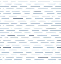 Hand drawn striped seamless pattern with short vector