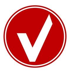 Ok button vector