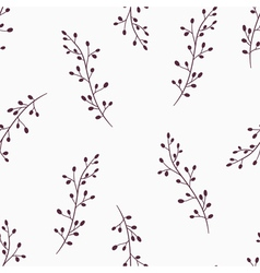 Simple floral seamless pattern background vector
