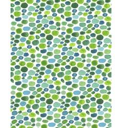 Watercolor pebbles vector
