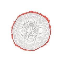 Cut of a tree vector