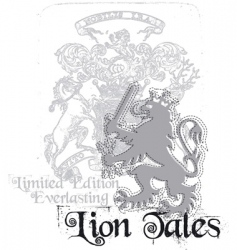 lion tales vector image vector image