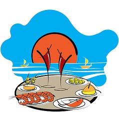 Spanish food vector image vector image