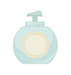 liquid soap bottle or body lotion cosmetics vector image vector image