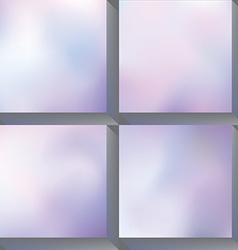 Soft background vector image vector image