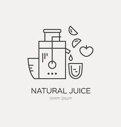 Juice maker vector