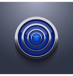modern circle element design Eps 10 vector image