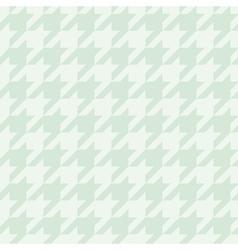 Tile mint green houndstooth pattern vector image vector image