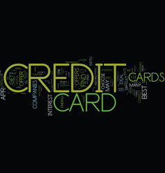 you should get an ideal credit card offer text vector image vector image
