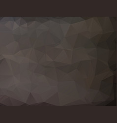 black abstract geometric low poly style graphic vector image
