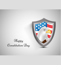 elements of usa constitution day b vector image