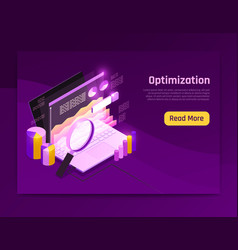 Web traffic page vector