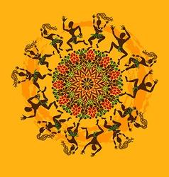 African dancers vector image vector image