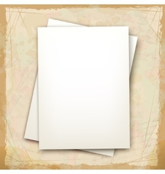 Note sheets of paper vector