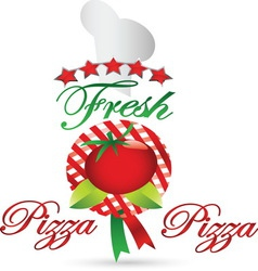 pizza 01 resize vector image vector image