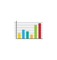 web marketing analytics flat icon vector image vector image