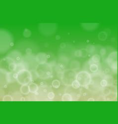 Abstract defocused circular purple green bokeh vector