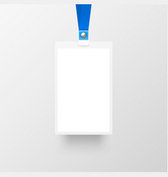Badge sing empty on gray background vector