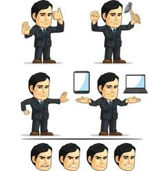 Businessman or Company Executive Customizable 11 vector