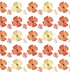 flowers flora nature decoration background vector image