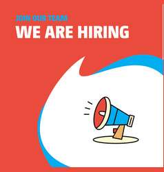 Join our team busienss company speaker we are vector