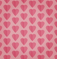 Seamless pattern background with hearts vector