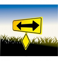 sign board vector image