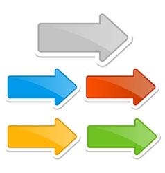 arrow vector image