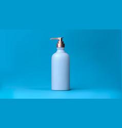 elegant cosmetic liquid soap with dispenser for vector image