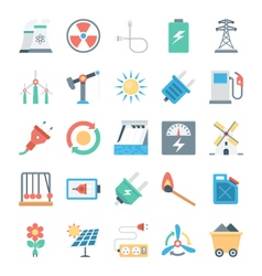 Energy and Power Icons 2 vector